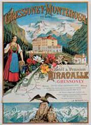 Affiche n. 2 - Gressoney - Monterosa